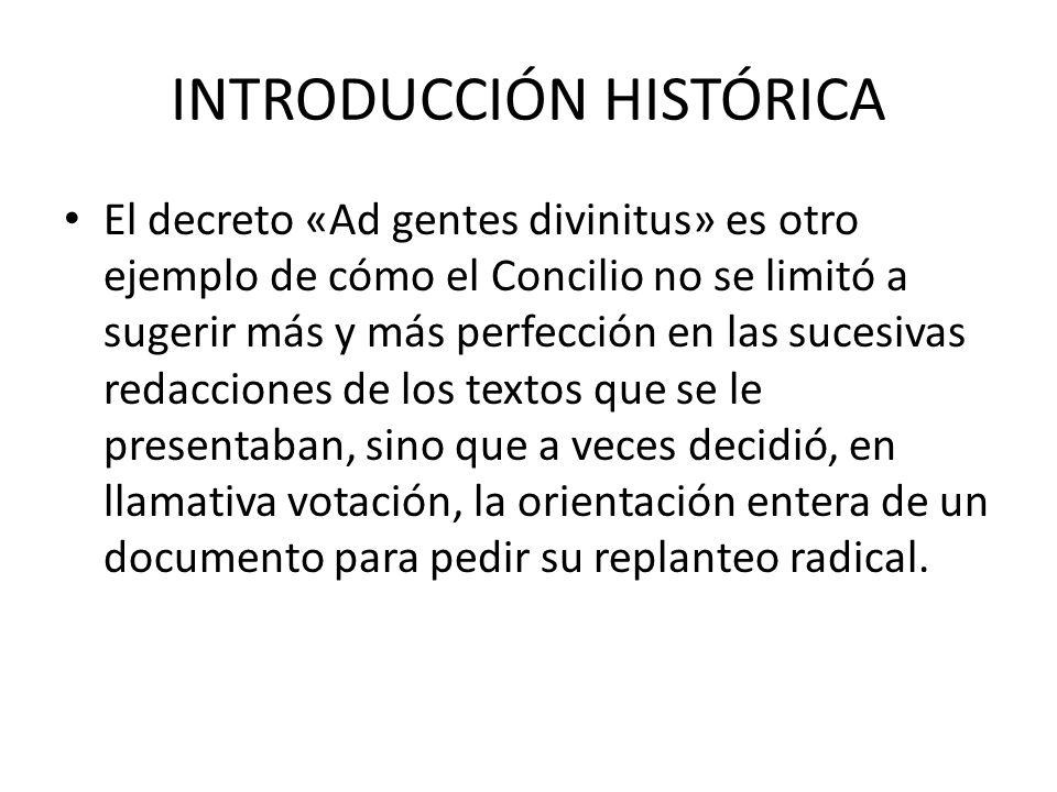 INTRODUCCIÓN HISTÓRICA