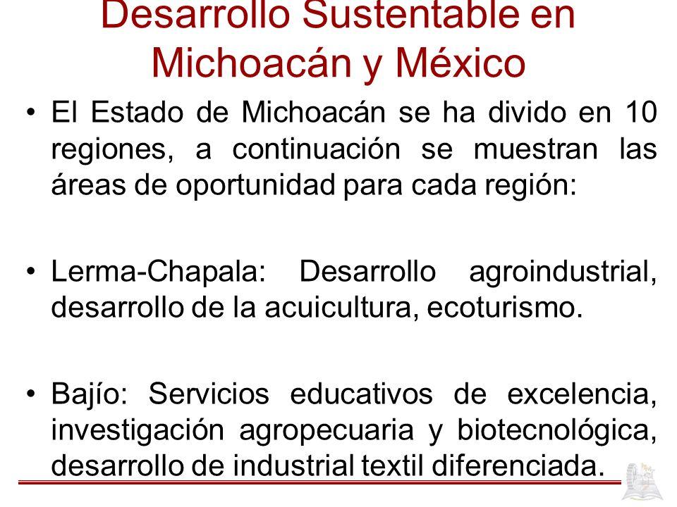 Desarrollo Sustentable en Michoacán y México