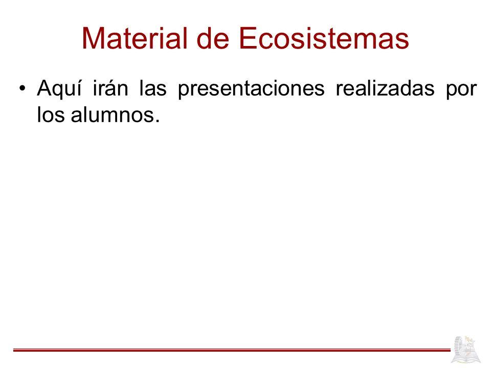 Material de Ecosistemas