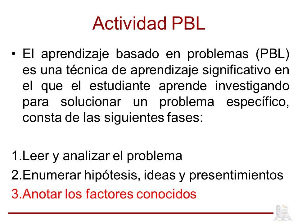 Actividad PBL