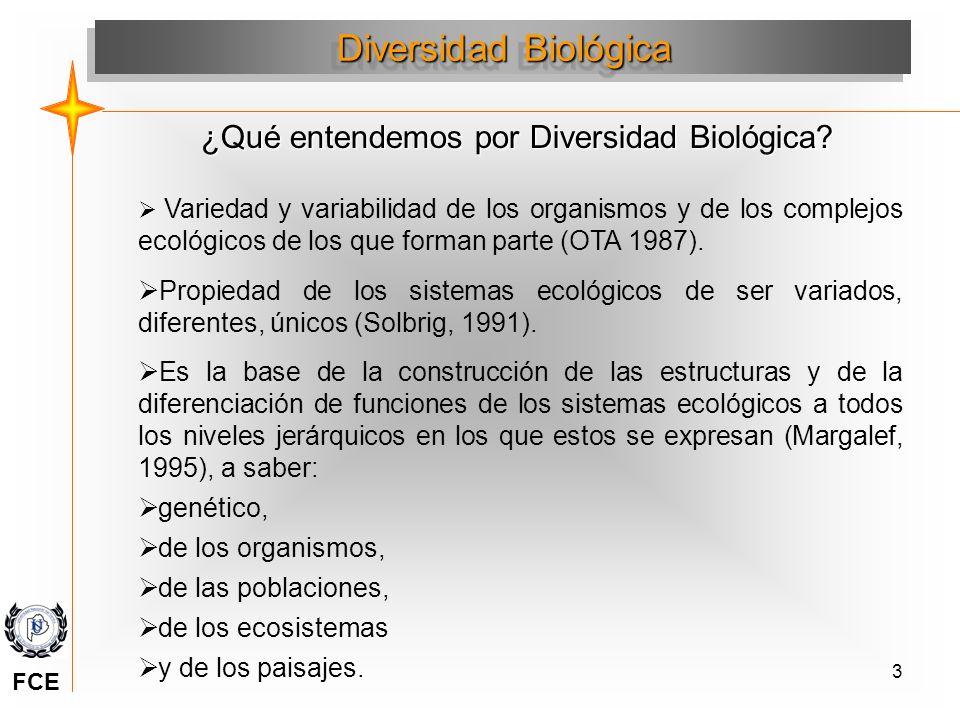 ¿Qué entendemos por Diversidad Biológica