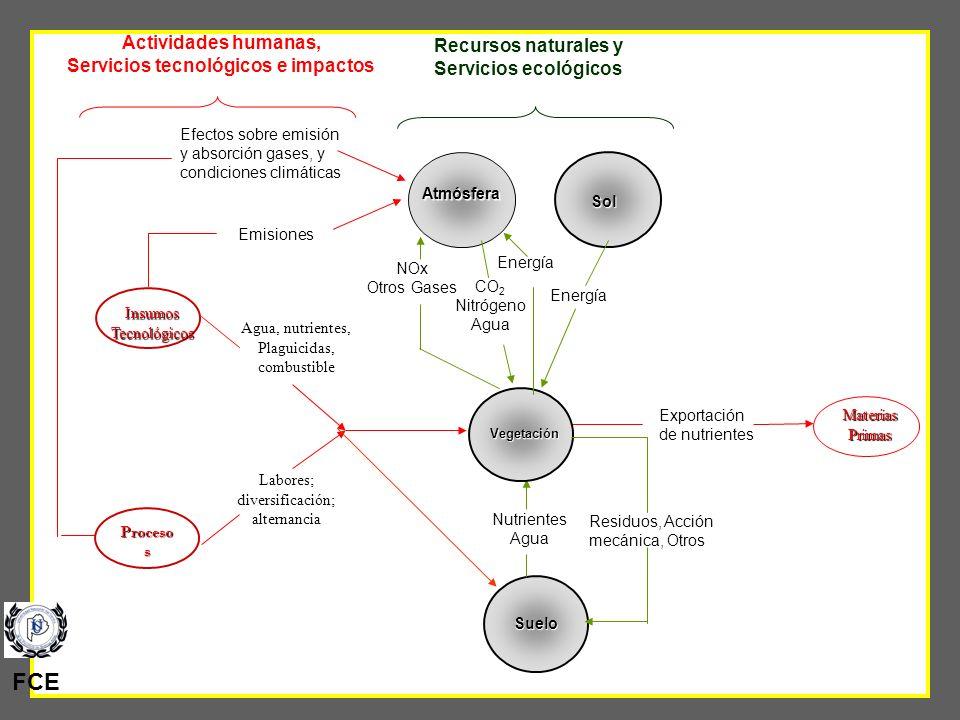 Servicios tecnológicos e impactos
