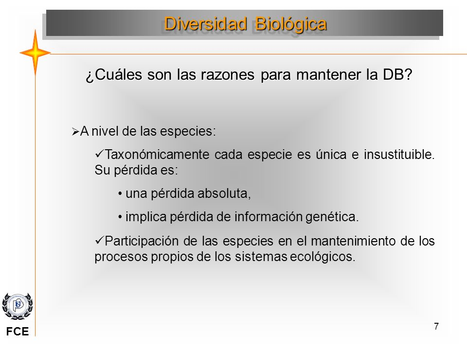 ¿Cuáles son las razones para mantener la DB