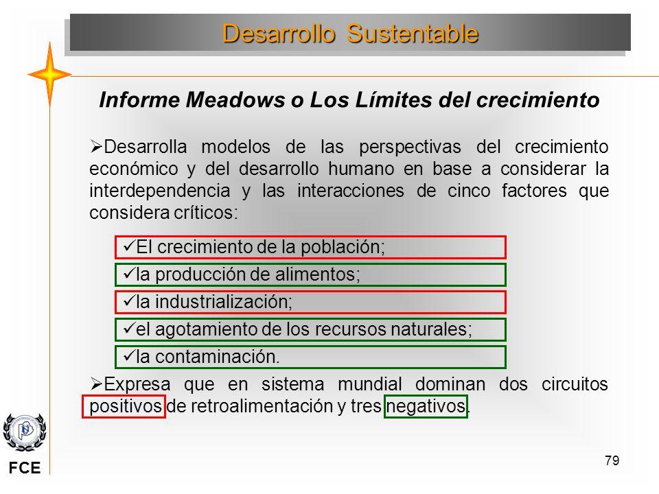 Informe Meadows o Los Límites del crecimiento