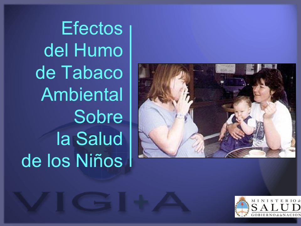 Efectos del Humo de Tabaco Ambiental Sobre la Salud de los Niños