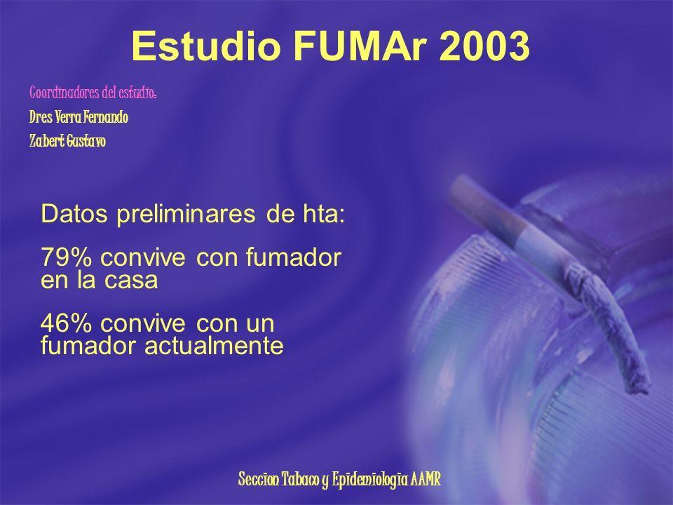 Seccion Tabaco y Epidemiologia AAMR