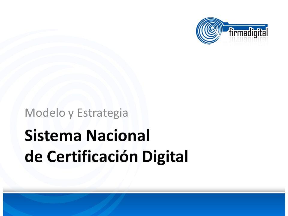 Sistema Nacional de Certificación Digital