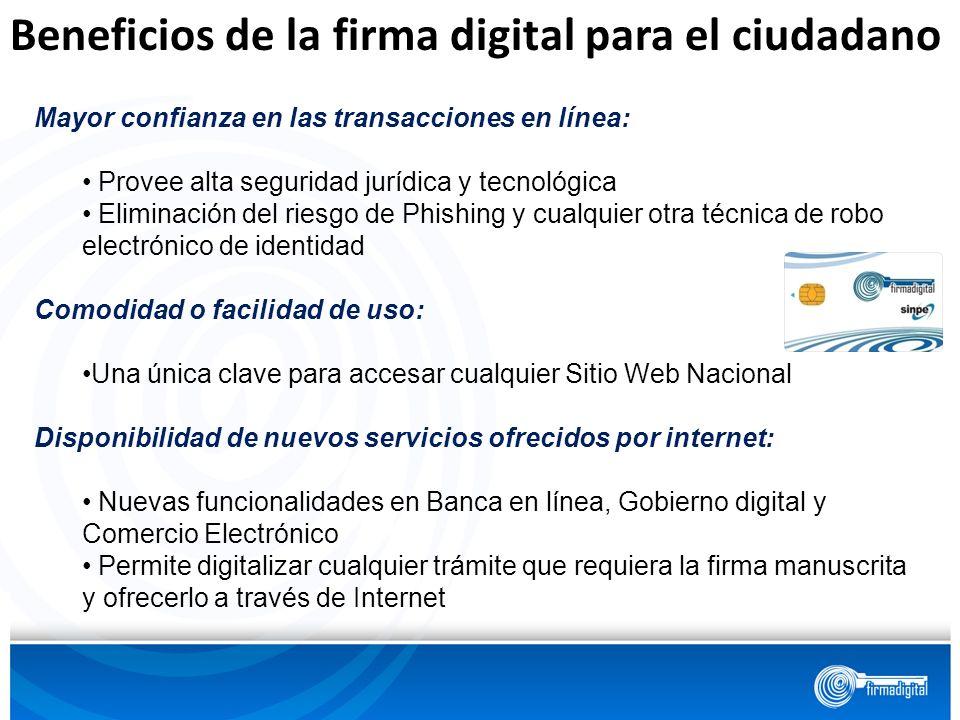 Beneficios de la firma digital para el ciudadano