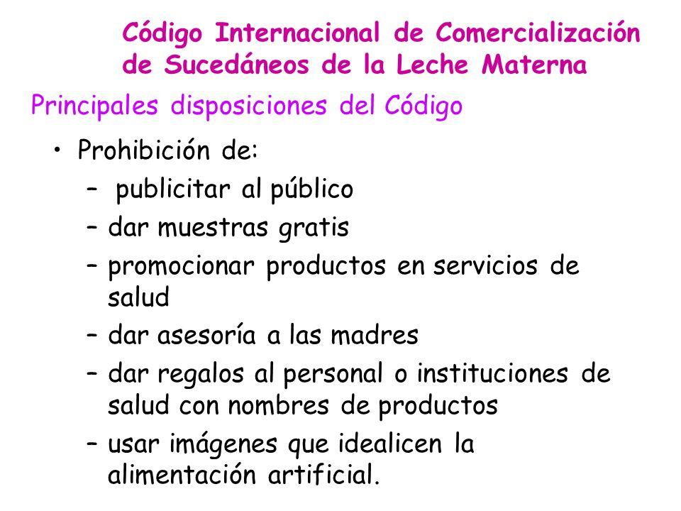 Principales disposiciones del Código
