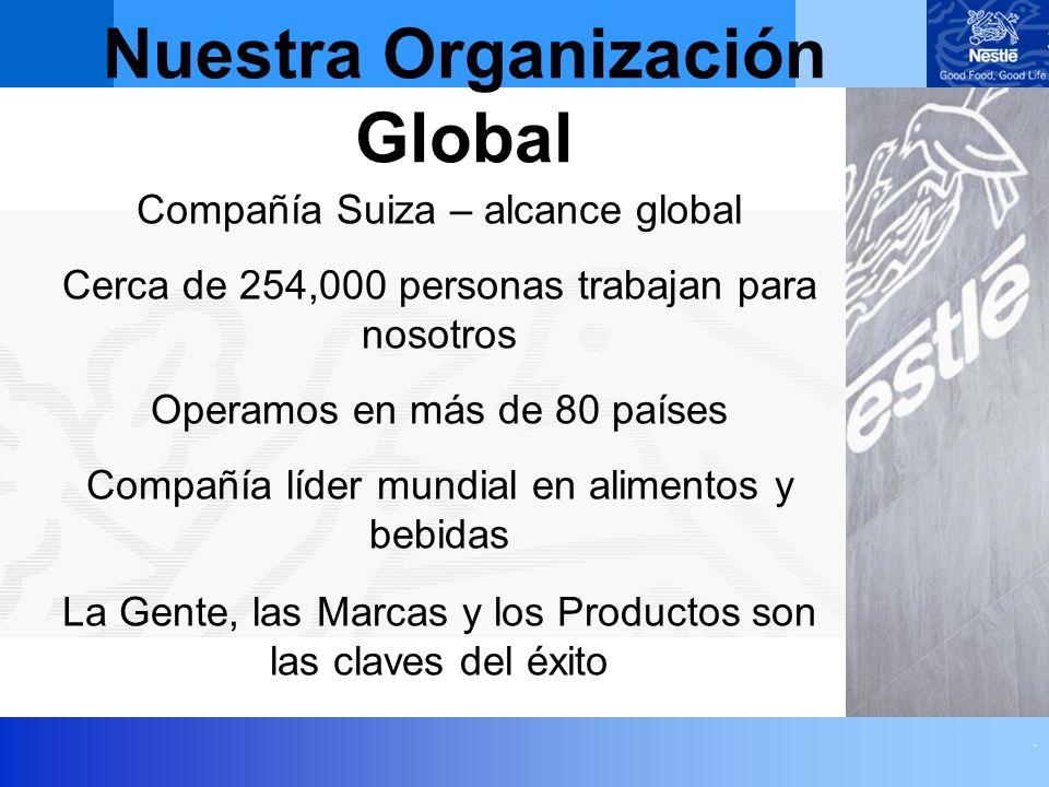 Nuestra Organización Global