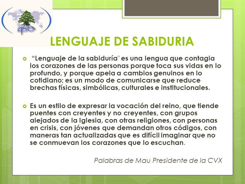 LENGUAJE DE SABIDURIA