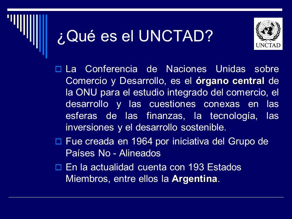 ¿Qué es el UNCTAD