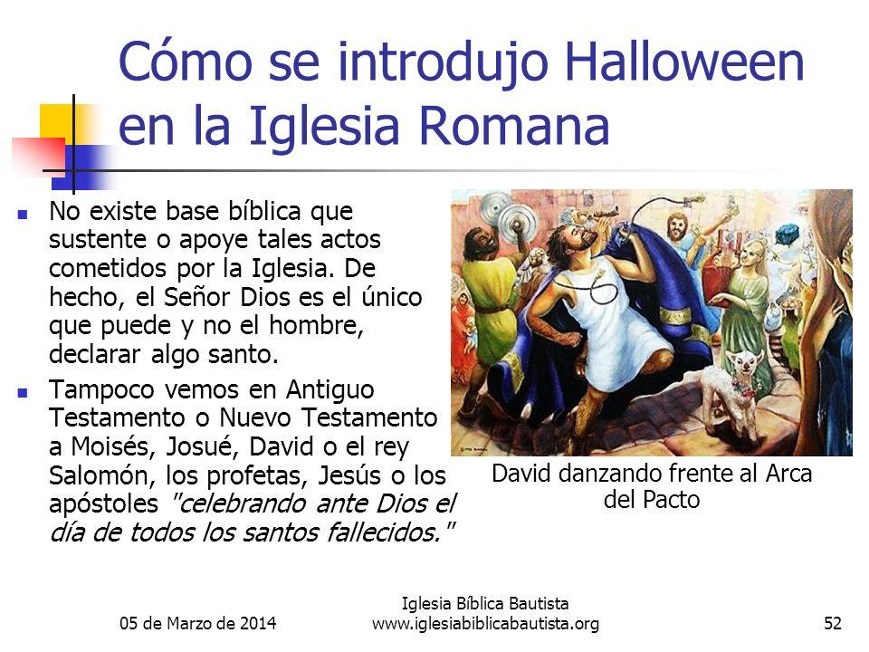 Cómo se introdujo Halloween en la Iglesia Romana