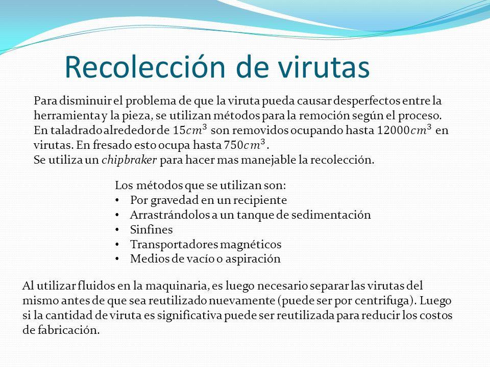 Recolección de virutas