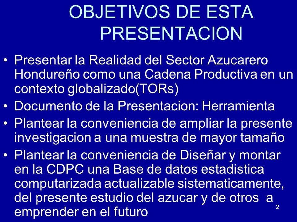 OBJETIVOS DE ESTA PRESENTACION