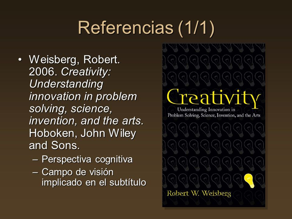 Referencias (1/1)