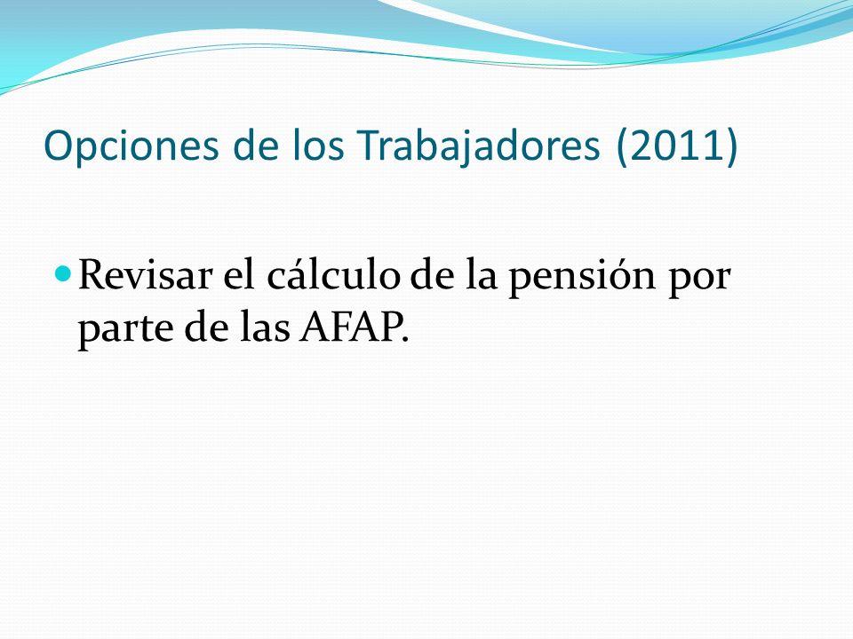 Opciones de los Trabajadores (2011)
