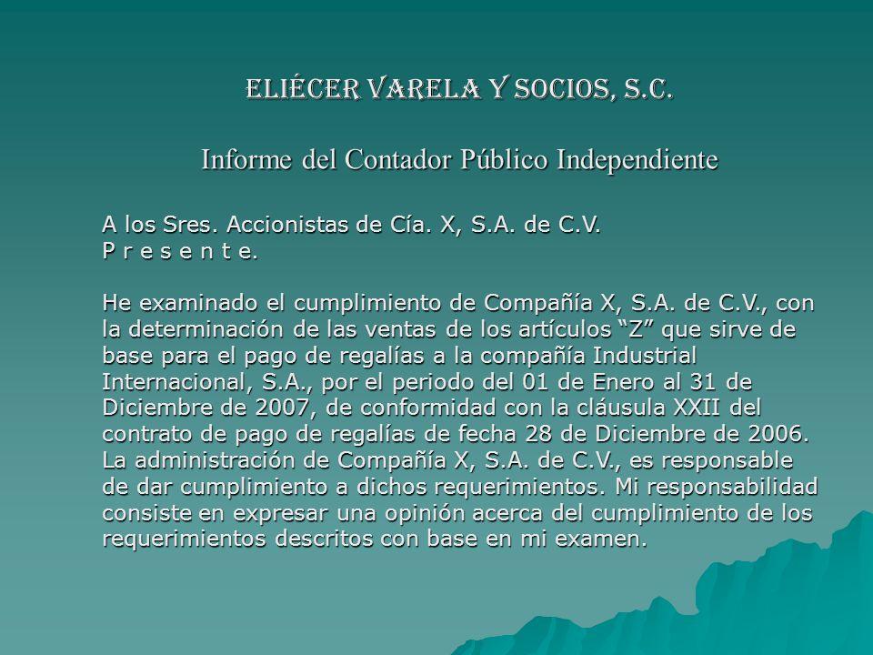 Eliécer Varela y Socios, S.C.