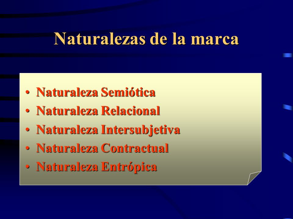 Naturalezas de la marca