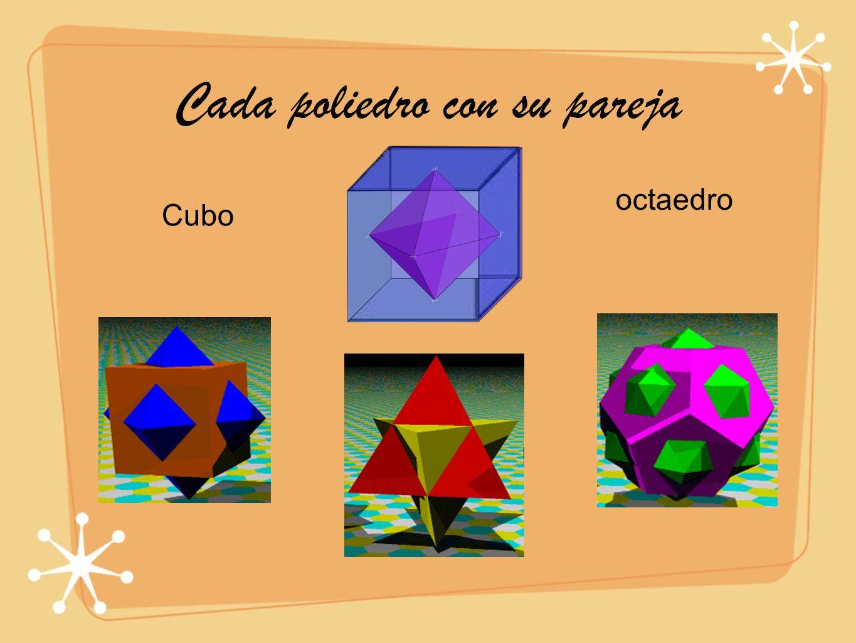 Cada poliedro con su pareja