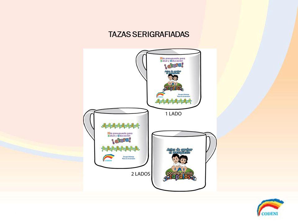 TAZAS SERIGRAFIADAS