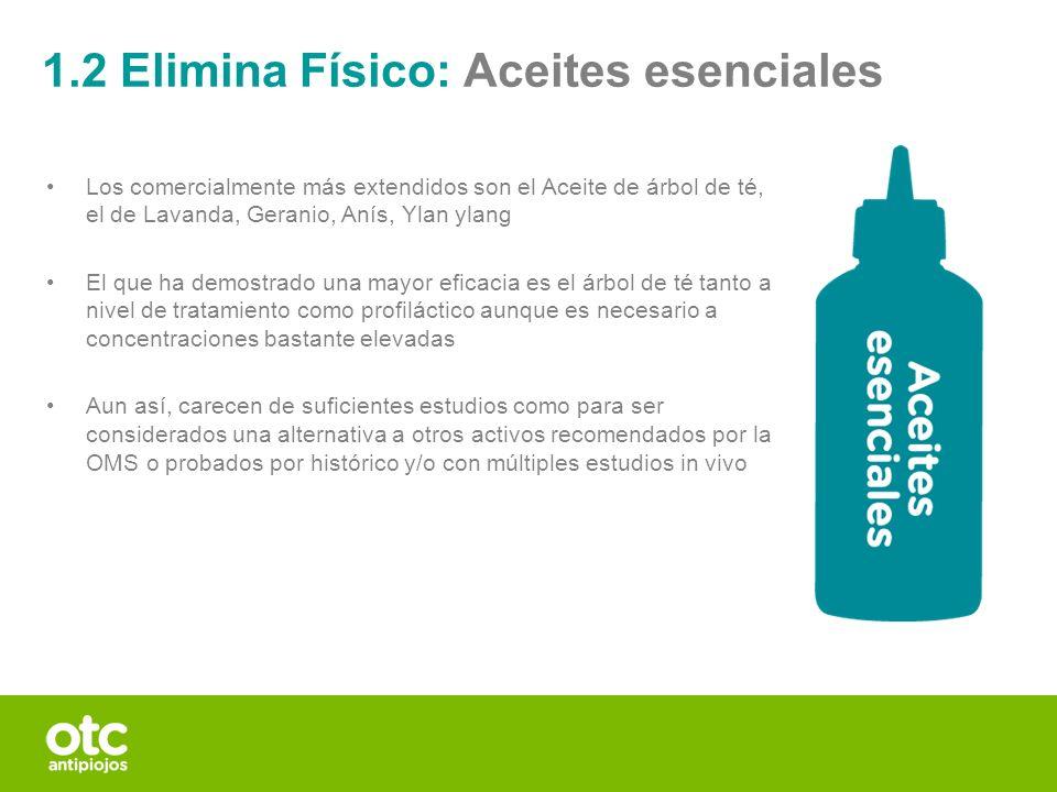 1.2 Elimina Físico: Aceites esenciales