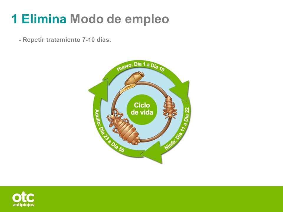 1 Elimina Modo de empleo - Repetir tratamiento 7-10 días. 19