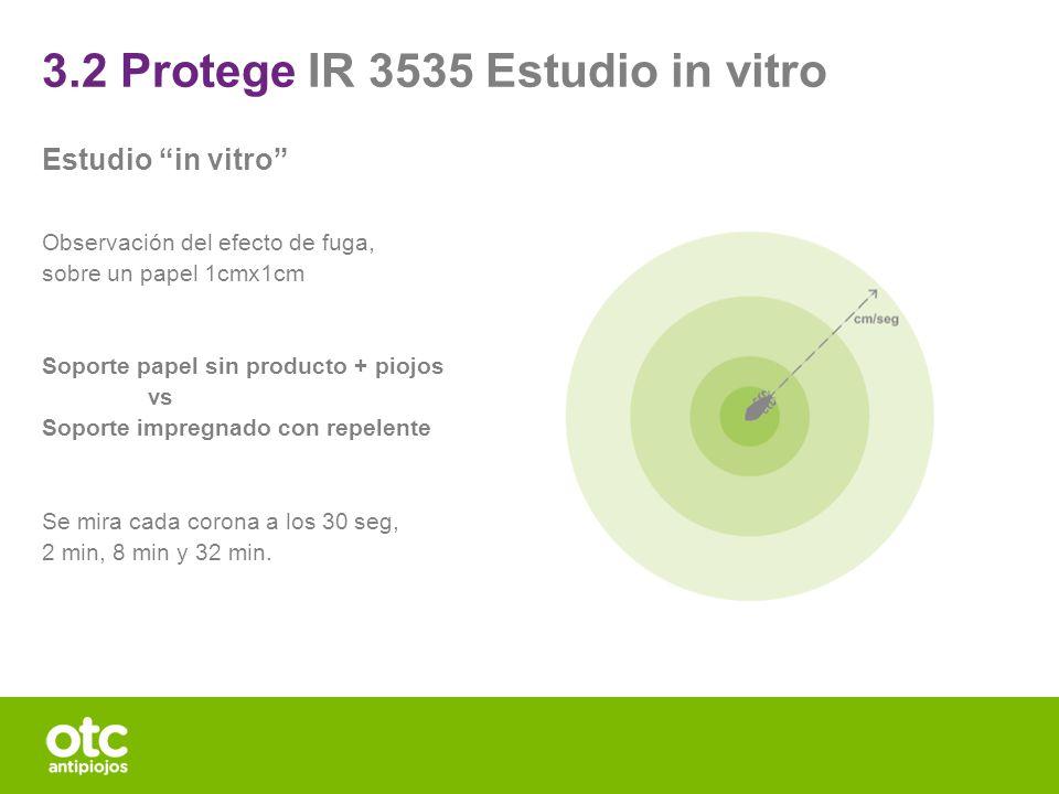 3.2 Protege IR 3535 Estudio in vitro