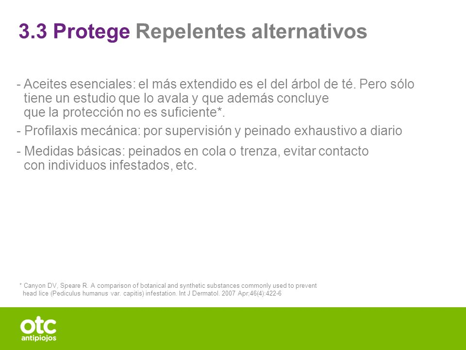3.3 Protege Repelentes alternativos
