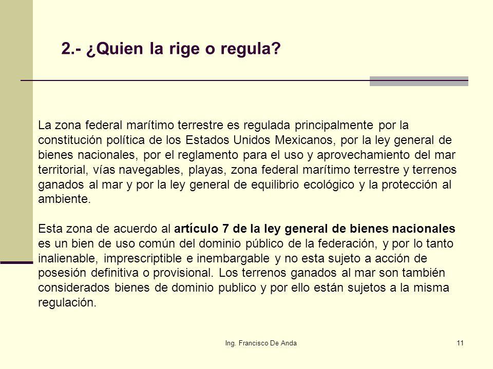 2.- ¿Quien la rige o regula