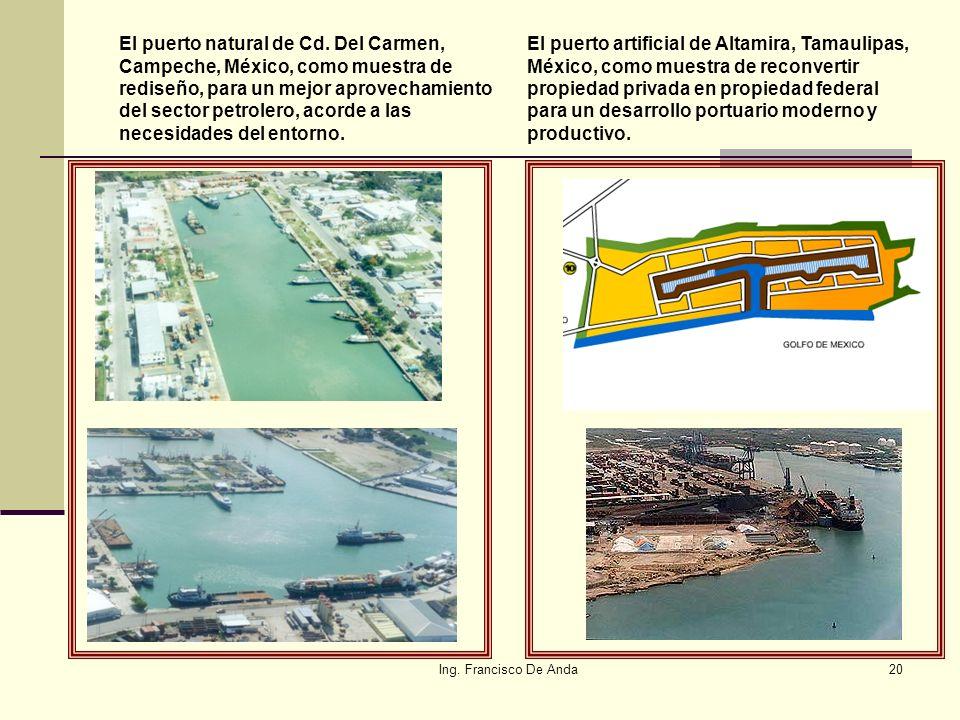 El puerto natural de Cd. Del Carmen, Campeche, México, como muestra de rediseño, para un mejor aprovechamiento del sector petrolero, acorde a las necesidades del entorno.