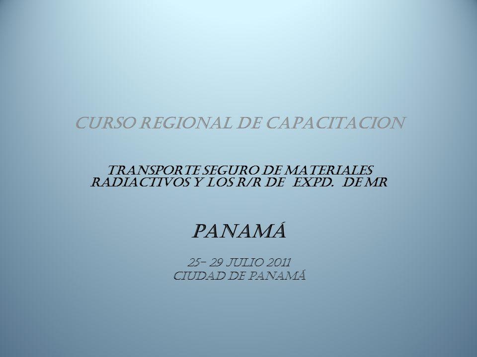 PANAMÁ CURSO REGIONAL DE CAPACITACION