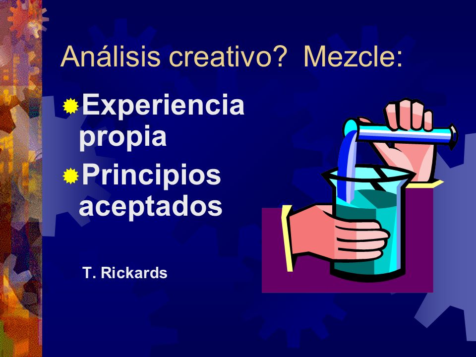 Análisis creativo Mezcle: