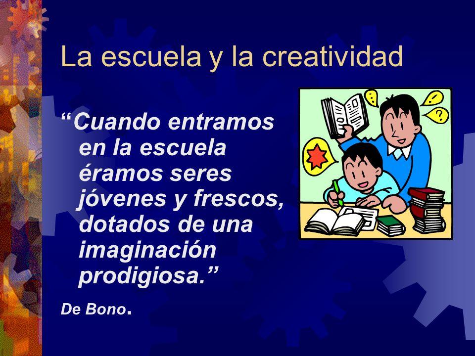 La escuela y la creatividad