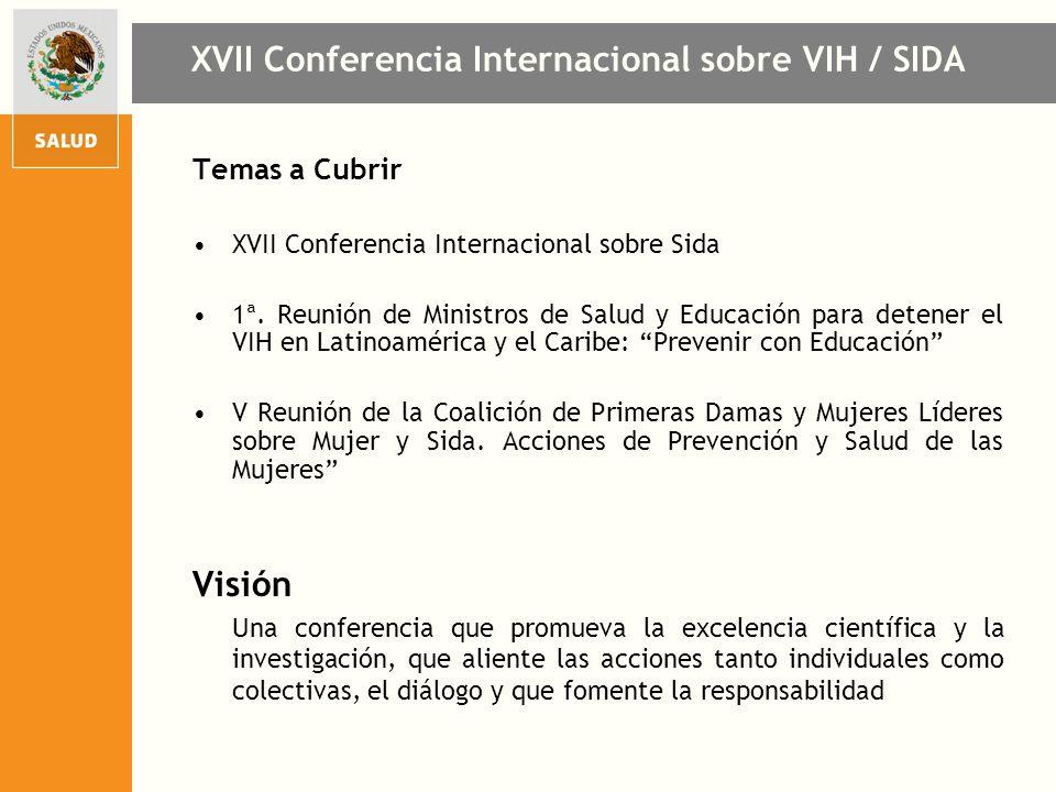 XVII Conferencia Internacional sobre VIH / SIDA