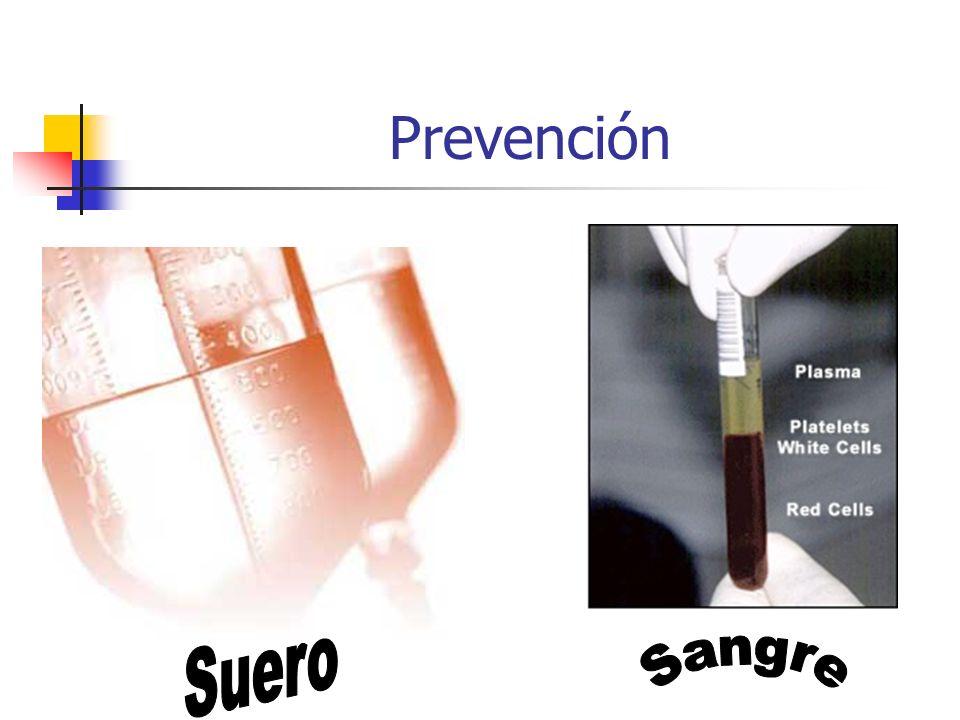 Prevención Suero Sangre
