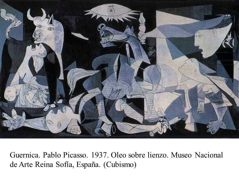 Abstracto Guernica. Pablo Picasso. 1937. Oleo sobre lienzo.