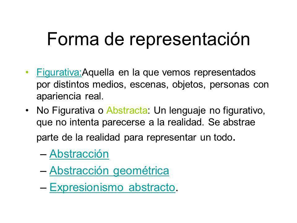 Forma de representación