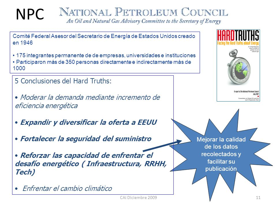 NPC 5 Conclusiones del Hard Truths: