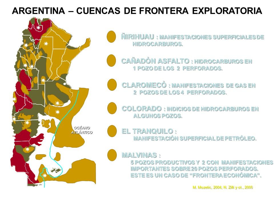 ARGENTINA – CUENCAS DE FRONTERA EXPLORATORIA