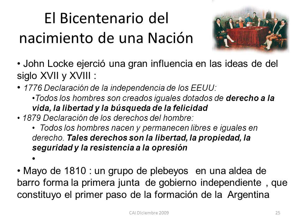 El Bicentenario del nacimiento de una Nación
