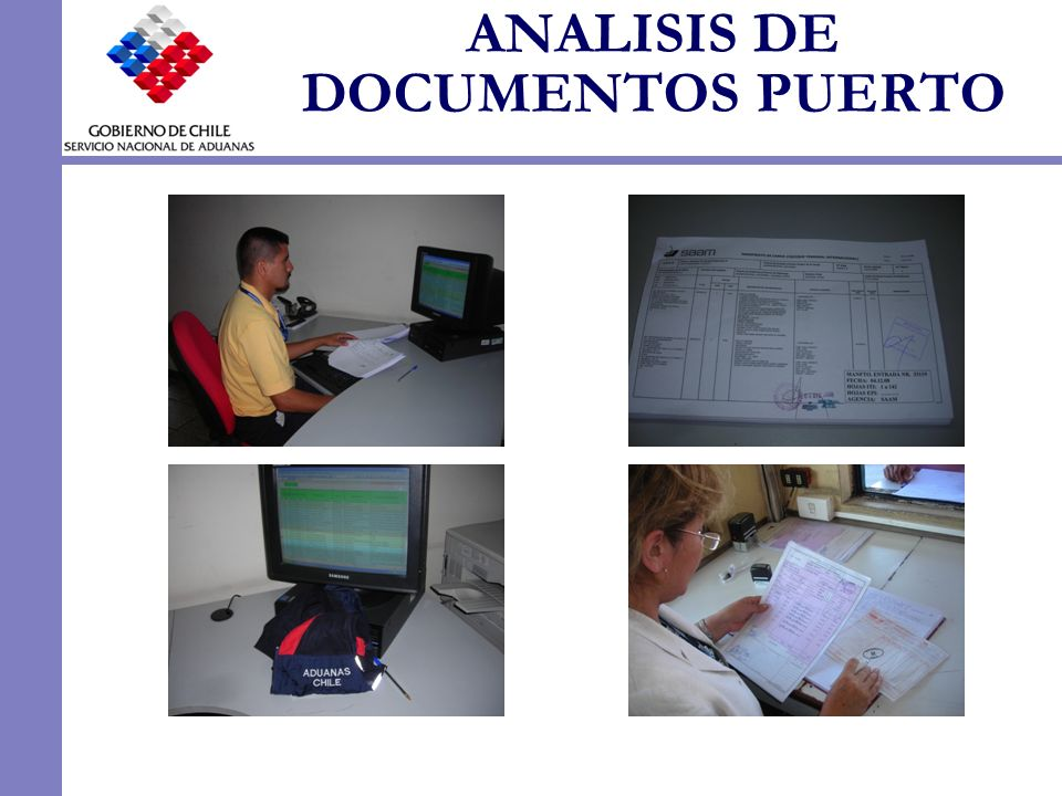 ANALISIS DE DOCUMENTOS PUERTO