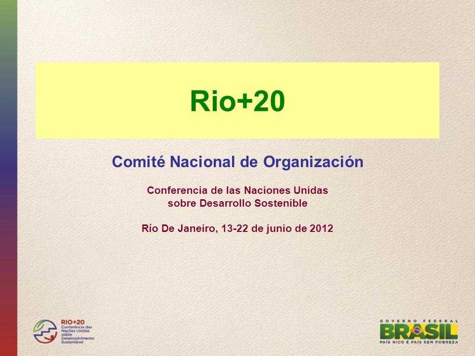 Rio+20 Comité Nacional de Organización