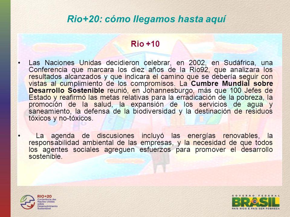 Rio+20: cómo llegamos hasta aquí
