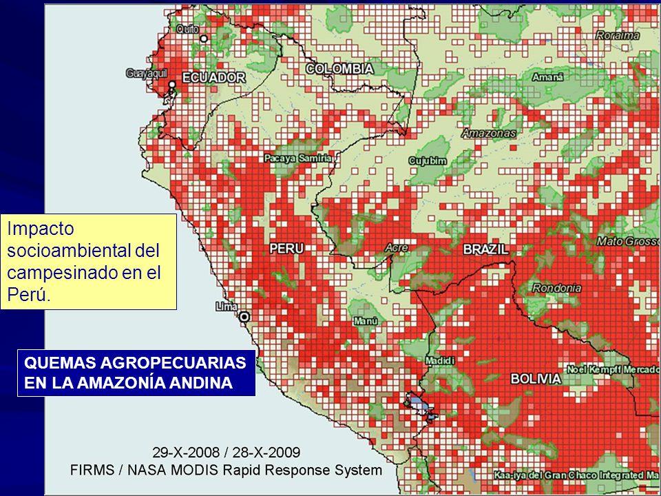 Impacto socioambiental del campesinado en el Perú.