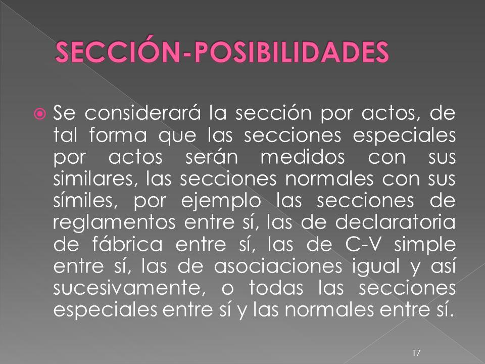 SECCIÓN-POSIBILIDADES