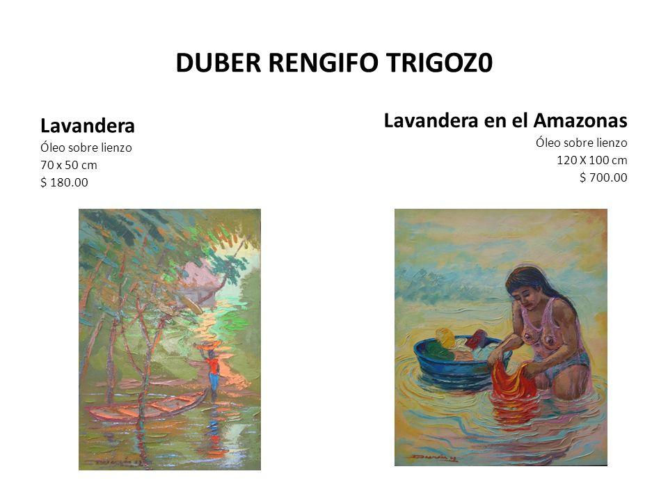 DUBER RENGIFO TRIGOZ0 Lavandera en el Amazonas Lavandera