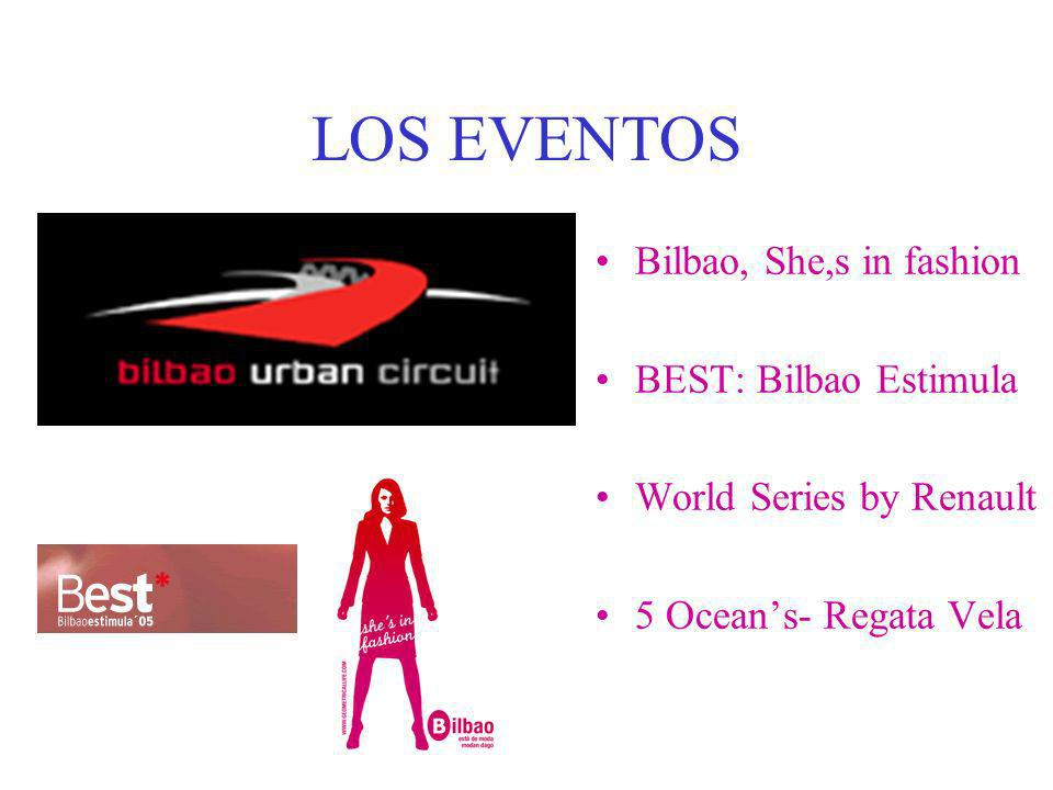 LOS EVENTOS Bilbao, She,s in fashion BEST: Bilbao Estimula