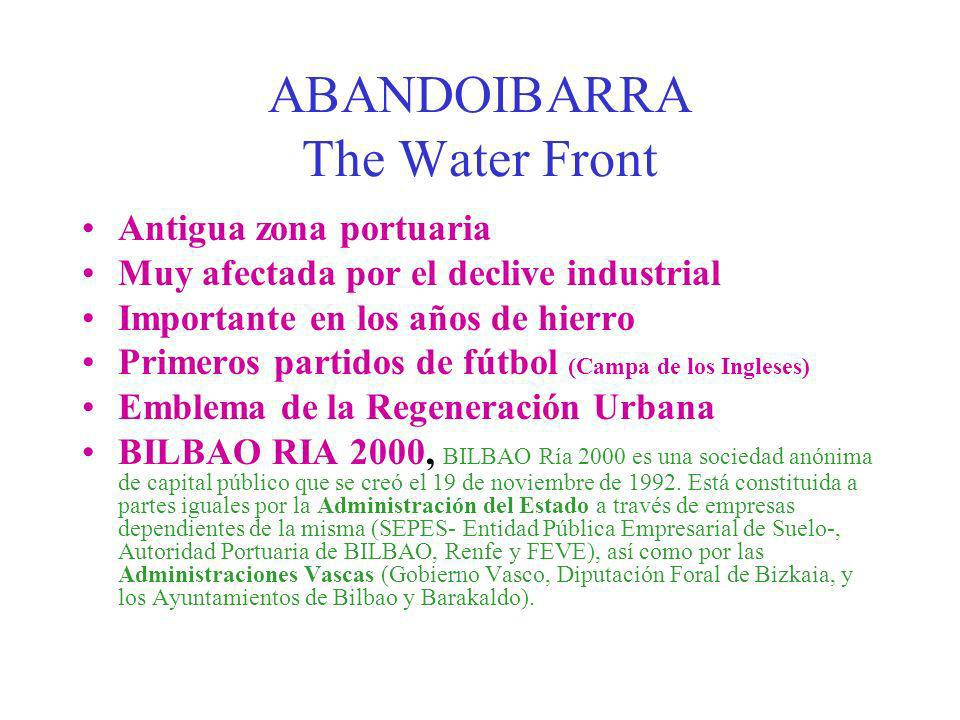 ABANDOIBARRA The Water Front