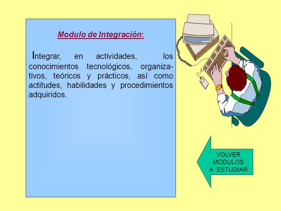 Modulo de Integración: